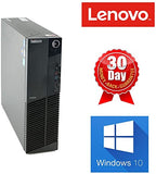 Lenovo ThinkCentre M92P (SFF) Small Form Factor | Intel Core i5-3470 (Quad-Core) @ 3.20GHz , 8GB RAM, 128GB SSD Hard Drive | USB Wi-Fi, Keyboard & Mouse, USB 3.0 , VGA, DisplayPort, Gigabit Ethernet | Windows 10 Pro x64 - 1 Year Warranty