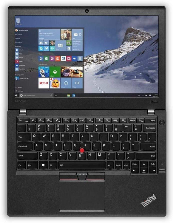 Lenovo ThinkPad X260 12.5'' FHD Ultrabook |  Intel® Core™ i5-6300U @ 2.30GHz (6th Gen) | 16GB RAM DDR4  | 512GB SSD | Webcam |  Windows 10 Pro (Grade A Refurbished) | 1 Year Warranty