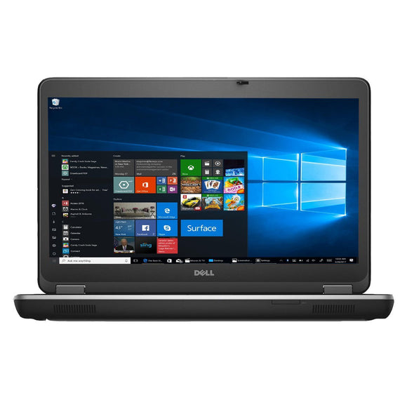 Dell Latitude E6440 Flagship Ultrabook | Intel Core i5 4300m @ 2.6GHz (4th Gen Haswell Processor) | 8GB RAM | 500GB HDD or 128SSD | HDMI | Webcam | DVDRW  | Windows 10 Pro x64 | Grade A (Certified Refurbished)