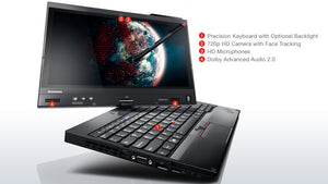 "Lenovo ThinkPad x230t Refurbished 12"" Tablet/Laptop - Windows 10 - Intel Core i5-3320m @ 2.6GHz - 4GB DDR3 System memory - 320GB HDD - Full Finger touchscreen and digitizer pen 