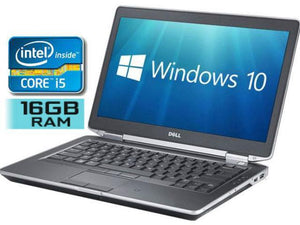 Dell Latitude E6430 Refurbished Laptop on sale Intel Core i5 3320M 2.6GHz 4GB Ram 500GB HDD Windows 10 Home Grade A (Dell Certified Refurbished) | Free Shipping Across Canada