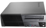 Lenovo ThinkCentre M93P (SFF) / Intel Quad Core i5-4570 (4th Gen) @ 3.6GHz / 8GB DDR3 RAM / 128GB SSD (Solid State Drive) / Wi-Fi, Keyboard & Mouse / USB 3.0 / VGA / DP / Gigabit Ethernet / Windows 10 Pro - 1 Year Warranty - Small Form Factor Desktop