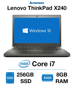 Lenovo ThinkPad x240 Core i7 | 8GB RAM | 256GB SSD in Canada Certified IBM Refurbished