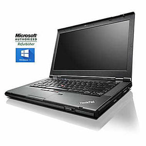 "ThinkPad (Lenovo) T430 / 14"" LED HD Laptop / 3rd generation 2.6GHz Intel Core i5-3320M / 12 GB DDR3 RAM / 500 GB HARD DISK DRIVE / Windows 10 Professional x64"