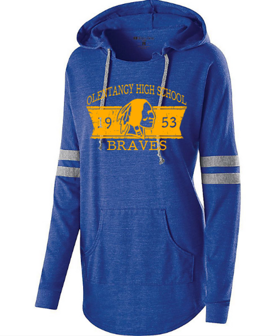Low Key Ladies Hoodie - Braves