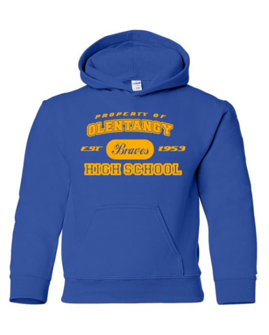 Property Of Olentangy Hoodie - Youth