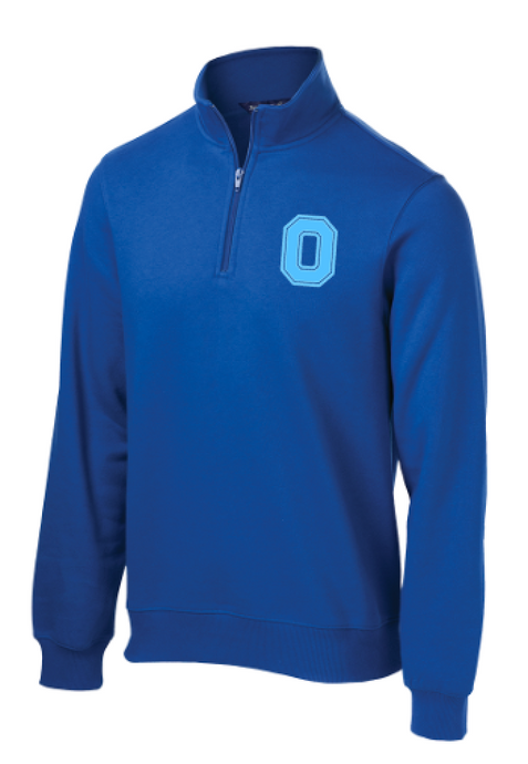 Block O Quarter Zip Pullover