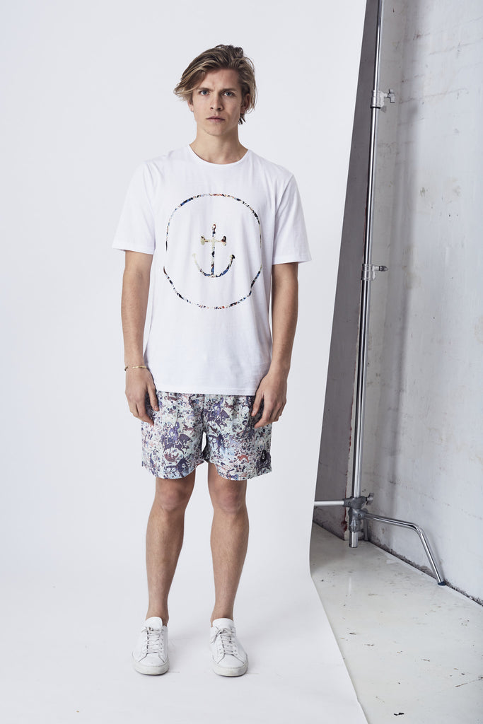 Persian Smiley Face Tee