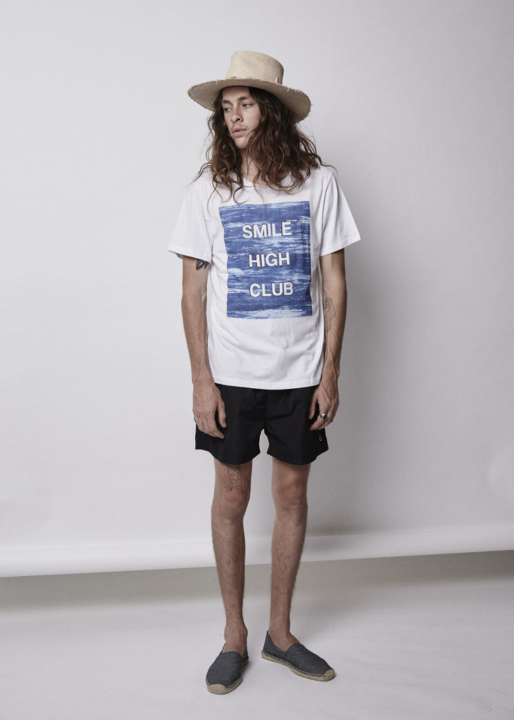 IWS x Steve Olson Smile high club tee.