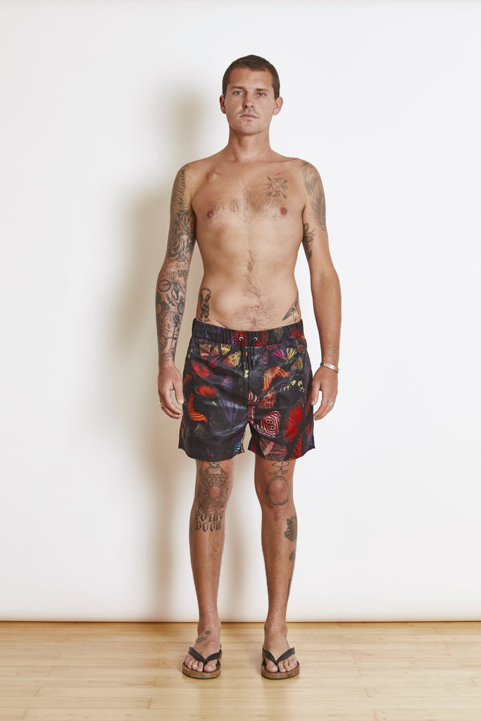 B Fly Cammo Swim Short