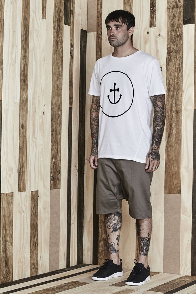 Smiley Face Anchor Tee