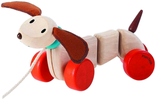 Plan Toys Active Toys Happy Puppy Pull Toy 12+ months