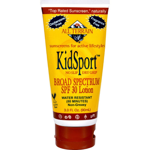 All Terrain Kid Sport Performance Sunscreen Spf 30 - 3 Fl Oz - Zoja Kid