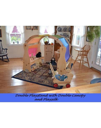 David's Double Playstands With Canopy - Zoja Kids