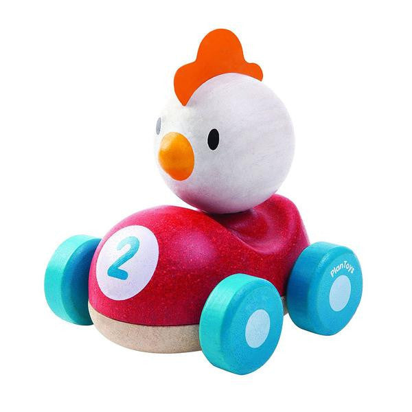 Plan Toys Active Toys Chicken Racer Car 12+ months