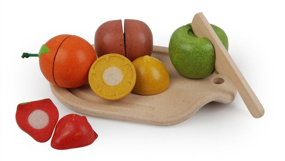 Plan Toys Pretend Play Assorted Fruit Set - 18+ months