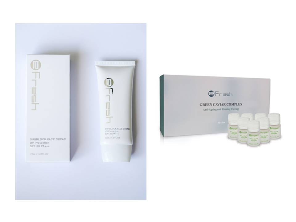 Green Caviar Complex with Sunblock Cream Bundle