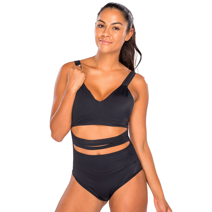 Stripe It Off Womens Leotard