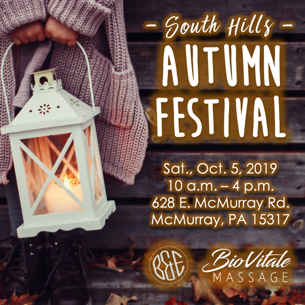 South Hills Autumn Festival at B&E!