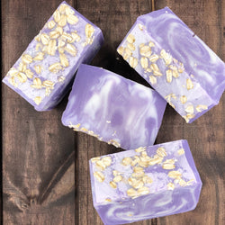 Lavender Oatmeal Cleansing Bar