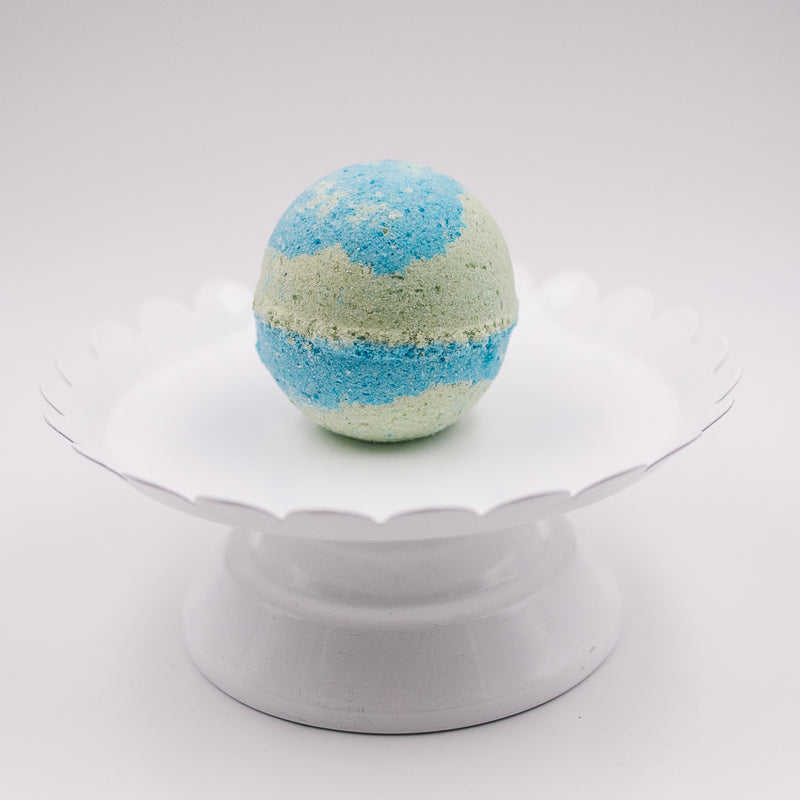 Lemongrass and Eucalyptus Bath Bomb