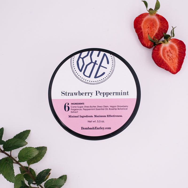 Strawberry Peppermint Body Polish