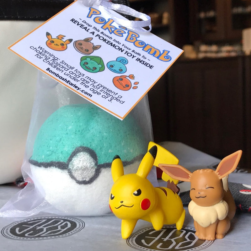 PokeBomb Bath Bombs (Specialty Shapes) - Limited Release