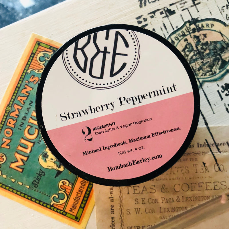 Strawberry Peppermint Body Butter