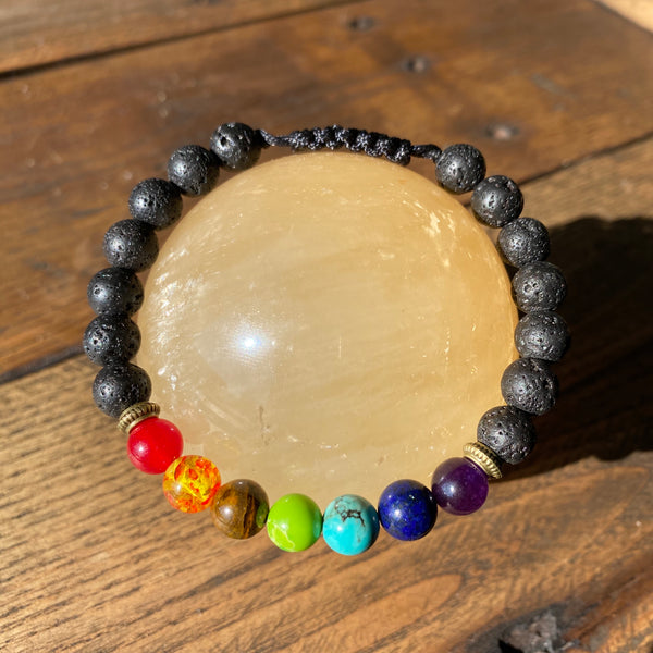 Multi-Bead Adjustable Diffuser Bracelet