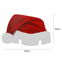 Even your drinks add to the festivities with Christmas Santa Hat Glass Decoration