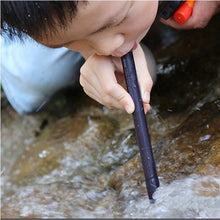125mmx12mm Portable Mini Straw Water Purifier Camping Hiking Outdoor