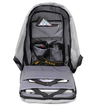 Anti Theft Backpack 15 inch Laptop Backpack USB Charging.  Travel safe.