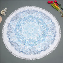 How stunning is this Mandala Beach Towel!