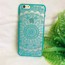 Beautiful Mandala Flower Fashion Phone Cover For iPhone 5 5S 6 6S 6Plus - FREE SHIPPING!!