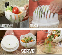 60 Seconds Salad Bowl Cutter  So easy to use!
