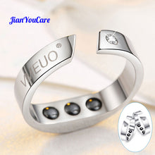 Anti Snore Ring Magnetic Therapy Acupressure Treatment