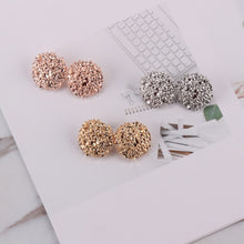 Bohemian Christmas Gifts -  Gold Colour Stud Earrings