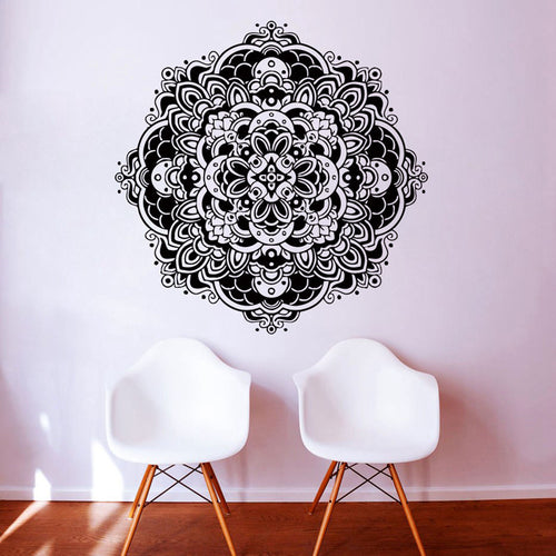 Mandala Namaste Wall Decal Stickers. Beautify your rooms. FREE SHIPPING