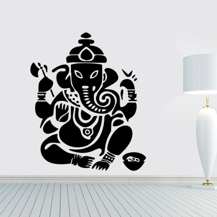 Buddhism mandala wall stickers.FREE SHIPPING