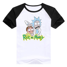 "Casual men's t-shirt Rick and Morty ""Peace among worlds"" brand-clothing"
