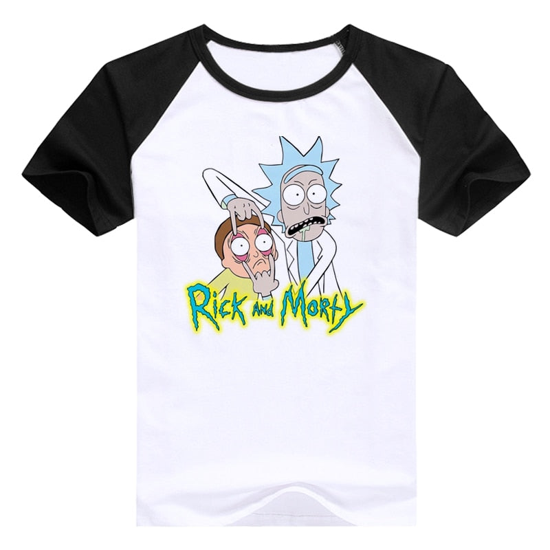 Casual men's t-shirt Rick and Morty