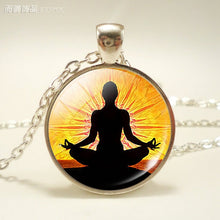 So lovely! Chakra Symbols Pendant