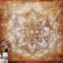 Retro Floral Wall Tapestry Ethnic Print Mandala Blanket. FREE SHIPPING