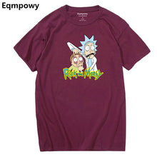 "Cool Rick and Morty men's t shirt ""Peace among the Worlds"""