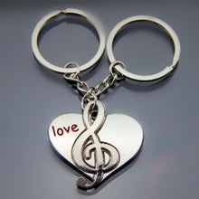 I LOVE YOU Heart Keychain Ring. Fabulous gift for Valentine's Day. Free shipping.