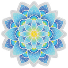 New Arrival Mandala Tapestry Lotus Mat,  Printed Shawl or Beach Towel. FREE SHIPPING