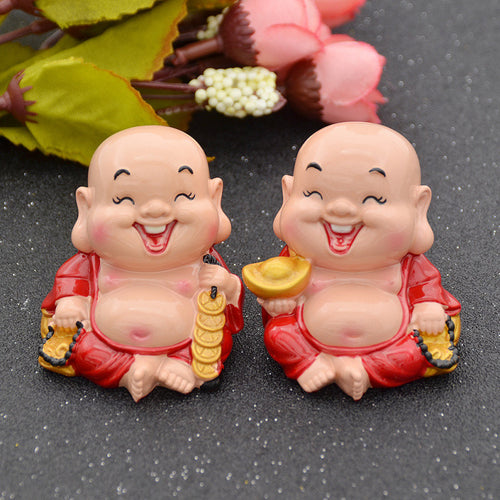 Feng Shui Happiness  & Wealth Laughing Buddha Collectible Statues. FREE SHIPPING