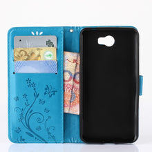 Stylish Henna Mandala Flip Case Cover For Huawei Y6II Y5II Y5 2 Y 6 II Leather Wallet. FREE SHIPPING