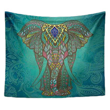 Mandala Elephant Tapestry. Let the elephant bring you health and good luck! FREE SHIPPING