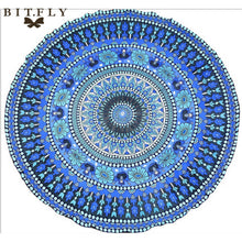 Gorgeous Indian Mandala Tapestry Wall Hanging or Boho Yoga Mat. FREE SHIPPING